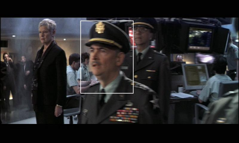 James Bond Cameos 1962 2008 After Icarus is destroyed  Wilson is seen as General Chandler  with a  relieved look on his face