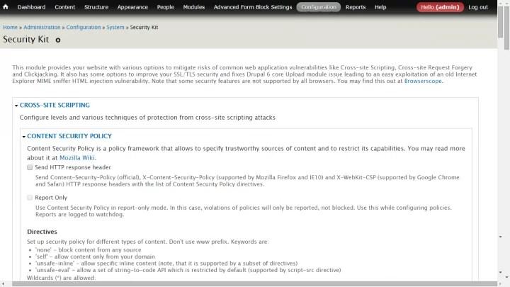 , 5 beveiligingsmodules voor je drupal website