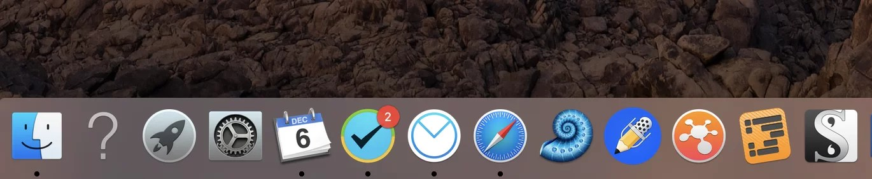 Dock-pictogrammen herstellen in Mac OS, Dock-pictogrammen herstellen  in Mac OS