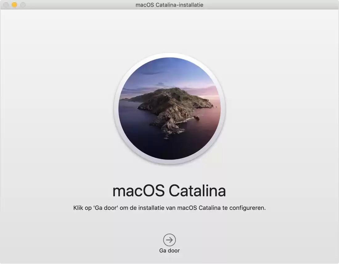 macOS opnieuw installeren, macOS opnieuw installeren via macOS Recovery