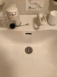 住之江区で洗面つまり