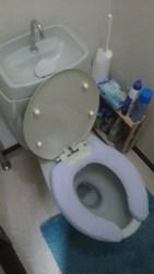 平野区にてトイレのつまり