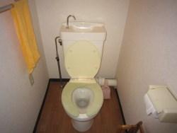 大阪市東住吉区にてトイレつまり