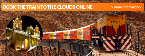 Book the train to the clouds on line