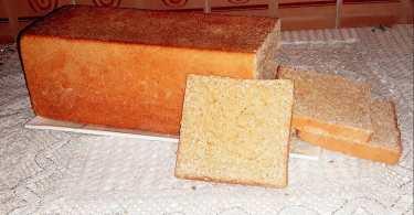خبز التوست بالقمح الكامل