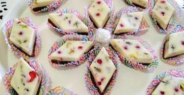 حلويات جزائرية سهلة بدون فرن