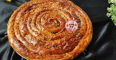 شهيوات مغربية رمضانية : مسمنة محنشة باي باي ورقة البسطيلة