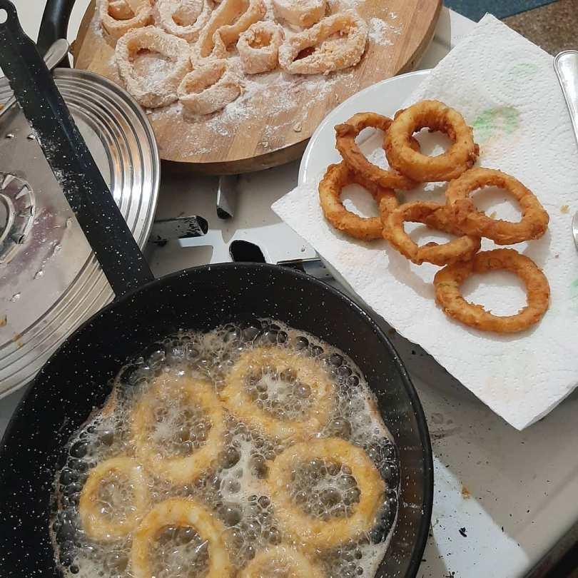 كلمار مقلي مثل المطاعم بالطريقة المغربية