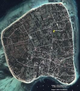 Gili Air map - 01islands.com