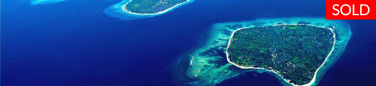 Gili Air real estate - freehold land - sold