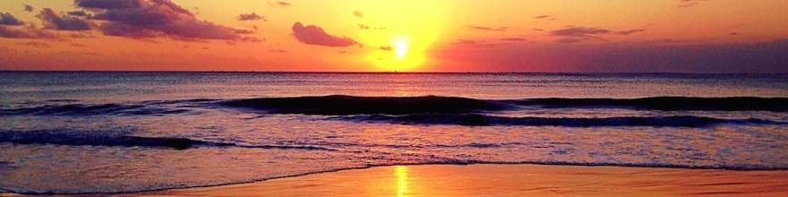 Sumba beach sunset