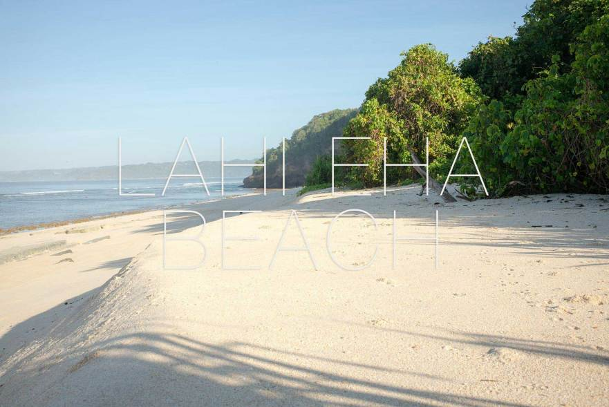 Land for sale Lahieha beach sumba