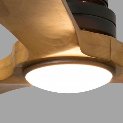 verre luminaire du ventilateur alo