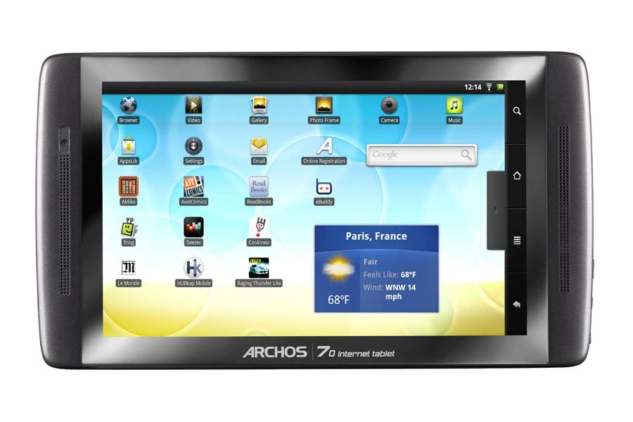 Archos 70 IT 250 go