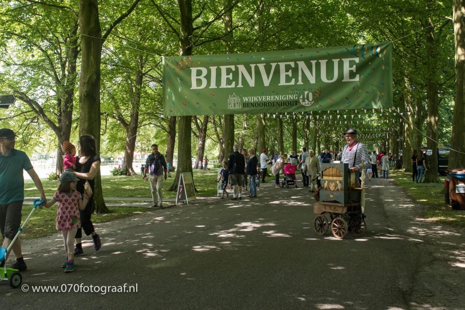 40 jarig jubileum wijkvereniging Benoordenhout in Den Haag - Park Clingendael.