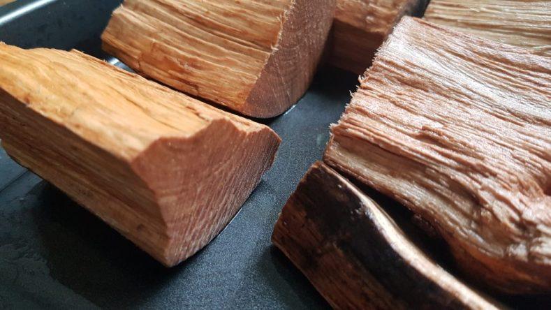 Buchenholz Chunks
