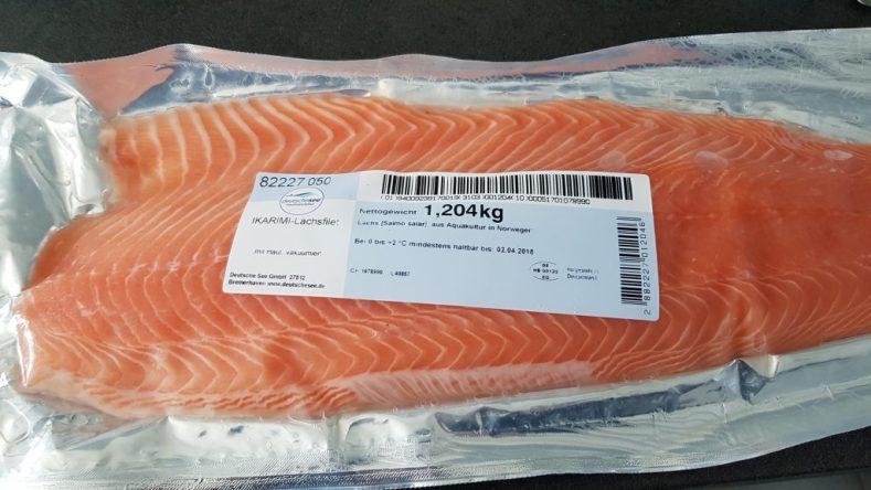 Ikarimi-Lachs-Filet von der Deutsche See