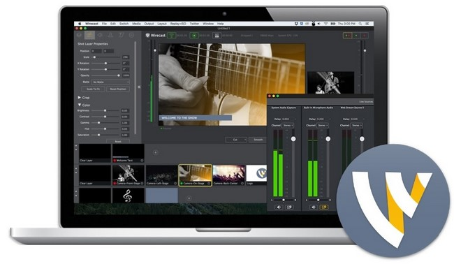 Telestream Wirecast Pro 7.0.1 Multilingual MacOSX