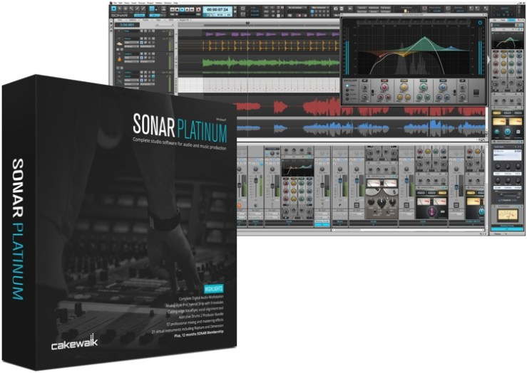 Cakewalk SONAR Platinum 22.8.0.30 with Plugins