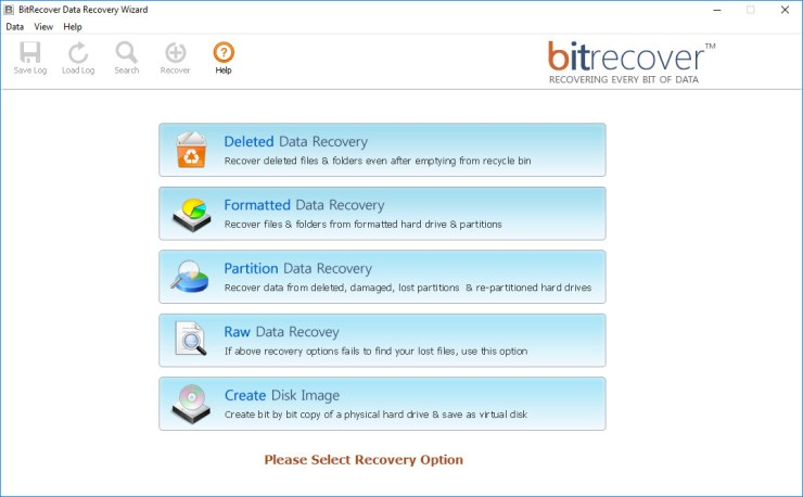 BitRecover Data Recovery Software 4.0