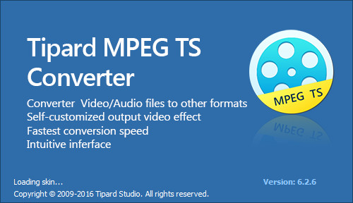 Tipard MPEG TS Converter 6.2.6 Multilingual
