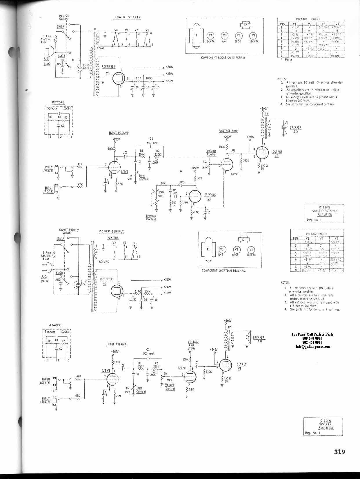 Les Paul Tone Control Schematic