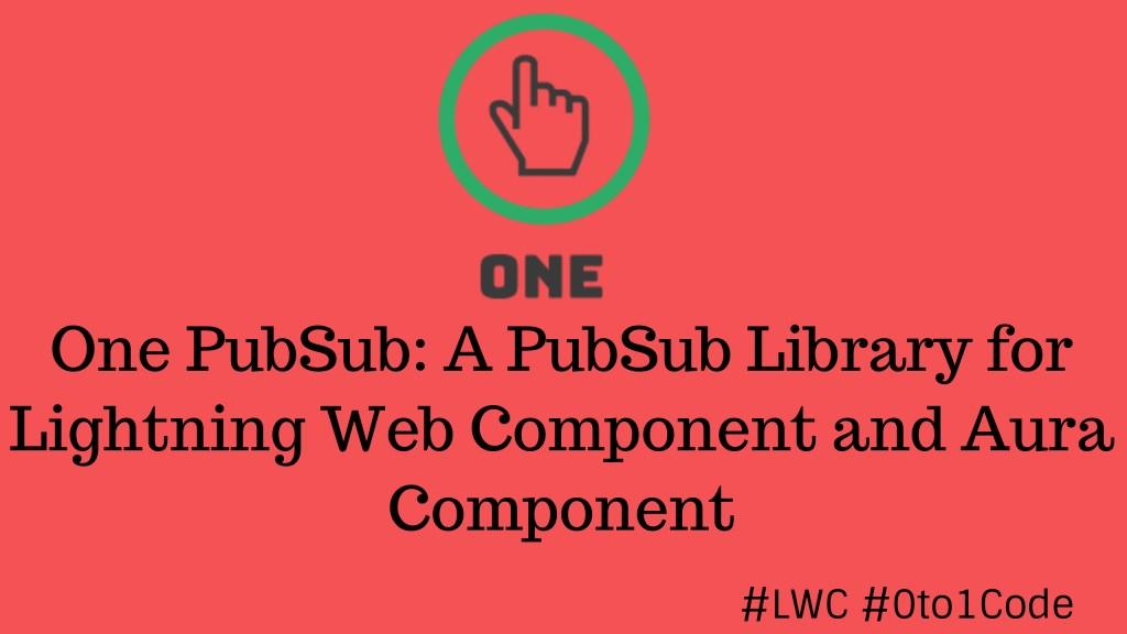 LWC PubSub