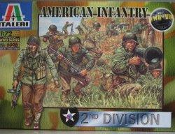 ITALERI 6046 Infanteria americana Front Box