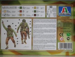 ITALERI 6046 Infanteria americana Back Box