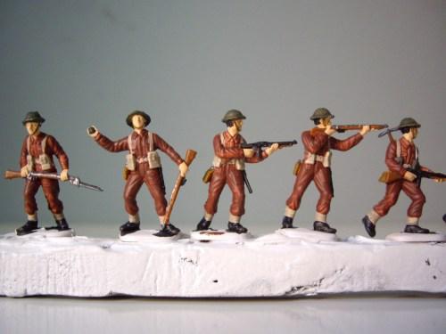 Italeri British Infantry Uniform