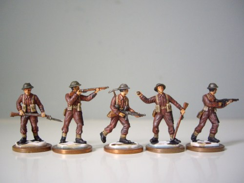 Italeri British Infantry Ended
