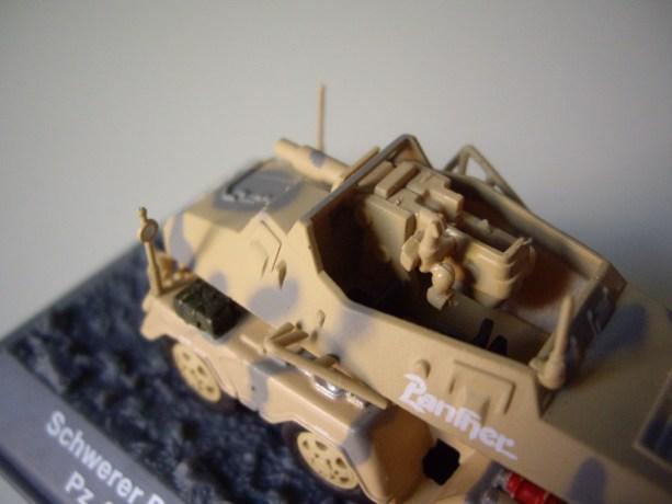 """nº29 – Altaya Schwerer Panzerspähwagen Sd. Kfz. 233 """"Stummel"""""""