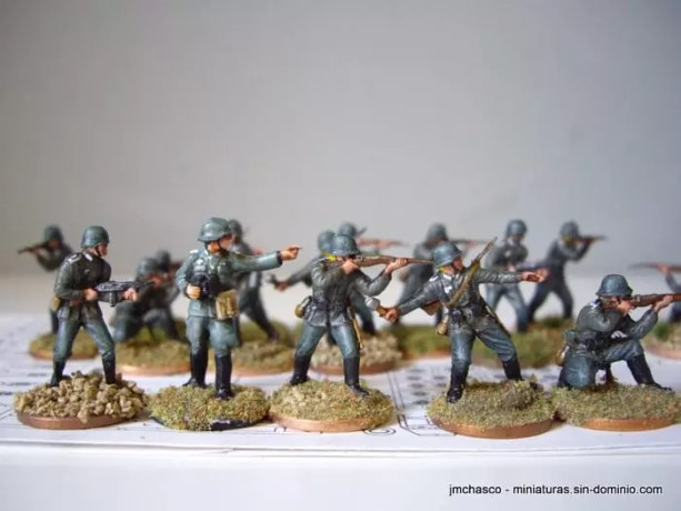 Airfix German Infantry WWII