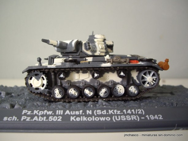 nº47 – 1/72 Altaya – Ixo Pz. Kpfw. III Ausf. N