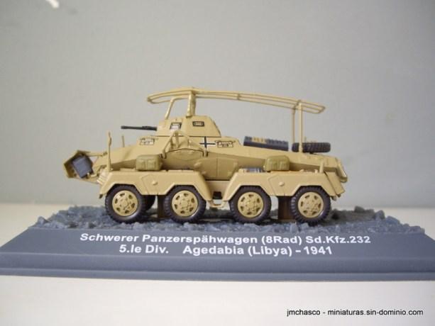 nº05 – 1/72 Altaya IXO Sd.Kfz. 232- 8rad