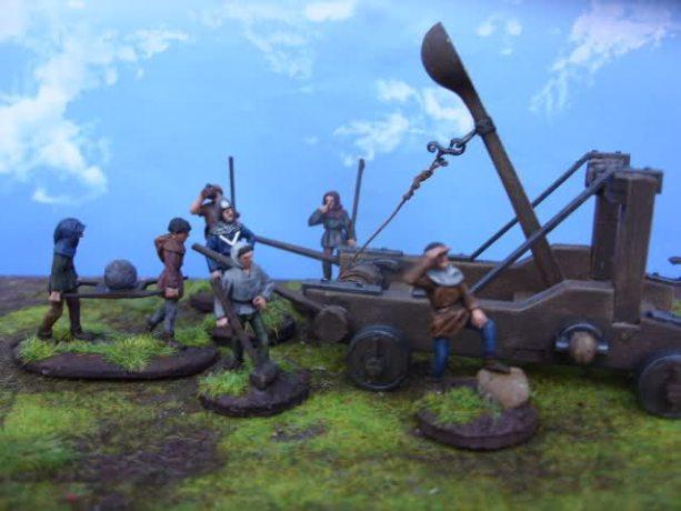 Zvezda Siege machines Kit 1 (8014)