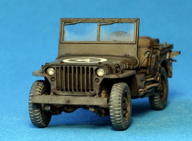 Willys Jeep, Tamiya 1/48