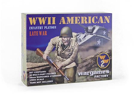 Wargames Factory 28mm U.S. Infantry.