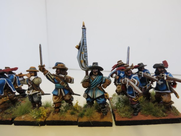 28mm – Warlord Games – Conversions (French Musketeers King's Guard).