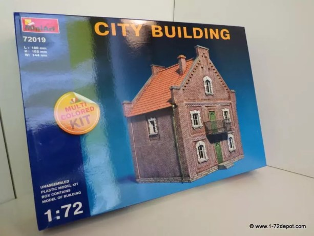 Inbox Review – Miniart – 72019 – CITY BUILDING