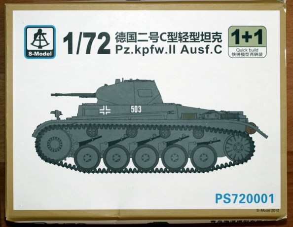 Pz.Kpfw. II Ausf. C from S-Model PS720001