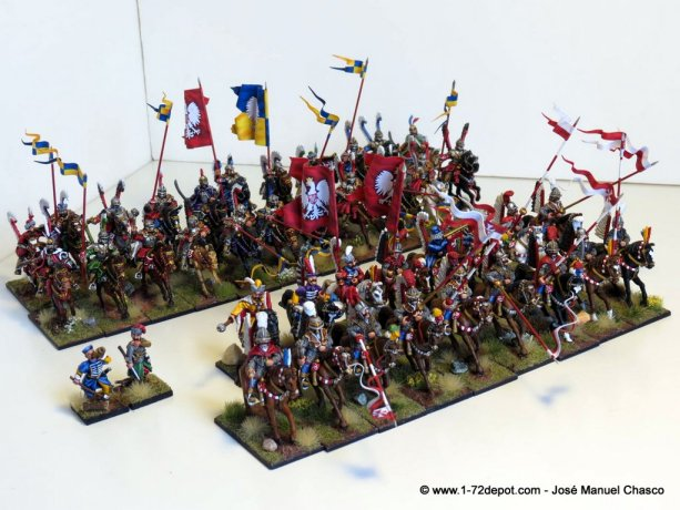 28mm – Polish Winged Hussars.