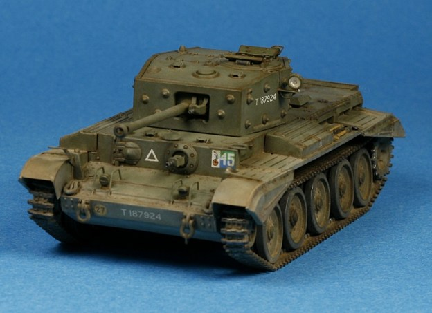 Cromwell Mk. IV – Revell 1/72 done