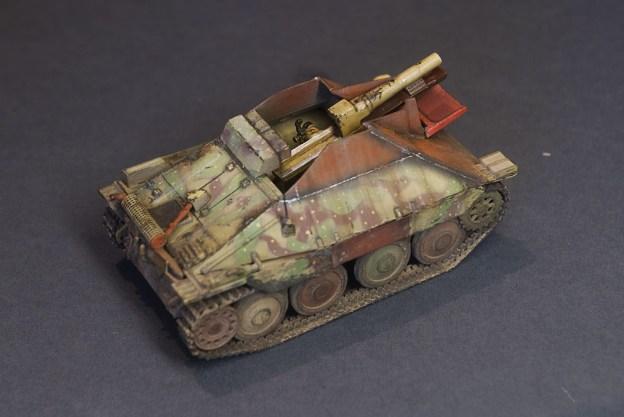 Self-propelled 15cm sIG-33/2 auf Jagpanzer 38(t), UM, finished