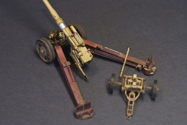 12.8 cm Kanone 81(K-81/2), ACE, Finished