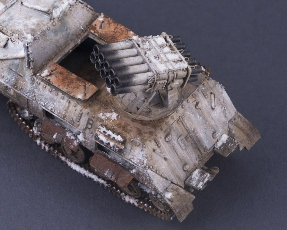 1/72 Roden – 712 – 15cm Panzerwerfer 42 Auf.Sf (Finished model)