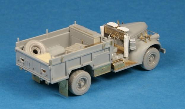 Dragon LRDG Patrol Car w/Lewis Gun – construction done