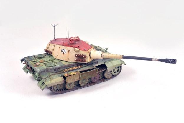 1/72 Model Collect – 72029 – E-75 128MM