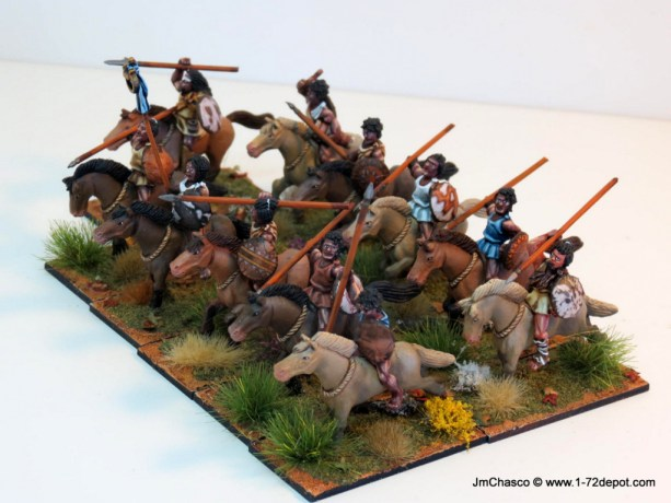28mm – Gripping Beast – Carthaginian Spear Men & Numidian Cavalry