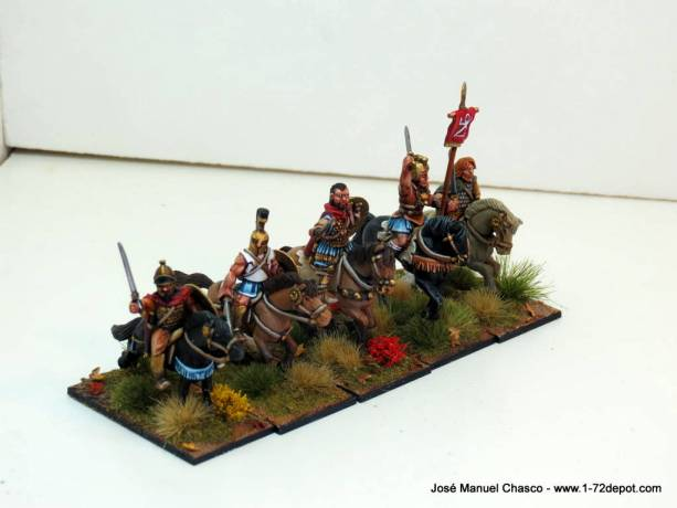 28mm – Gripping Beast & Crusader Miniatures – Carthaginian reinforcements.